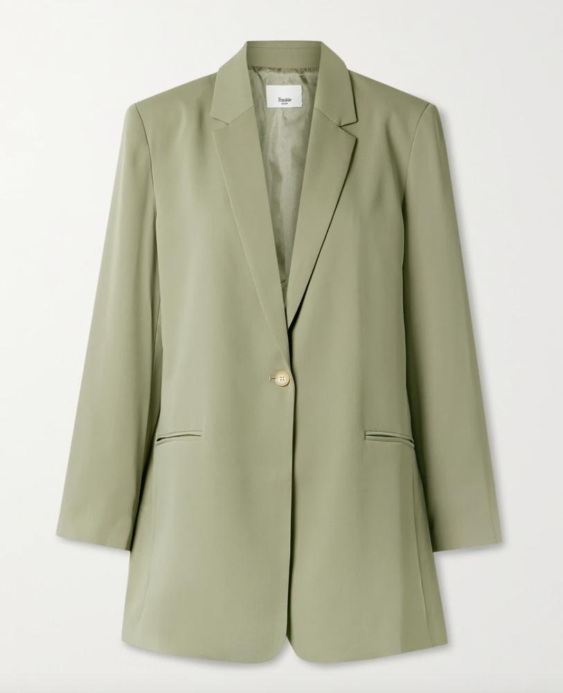 Frankie Shop Isla crepe blazer