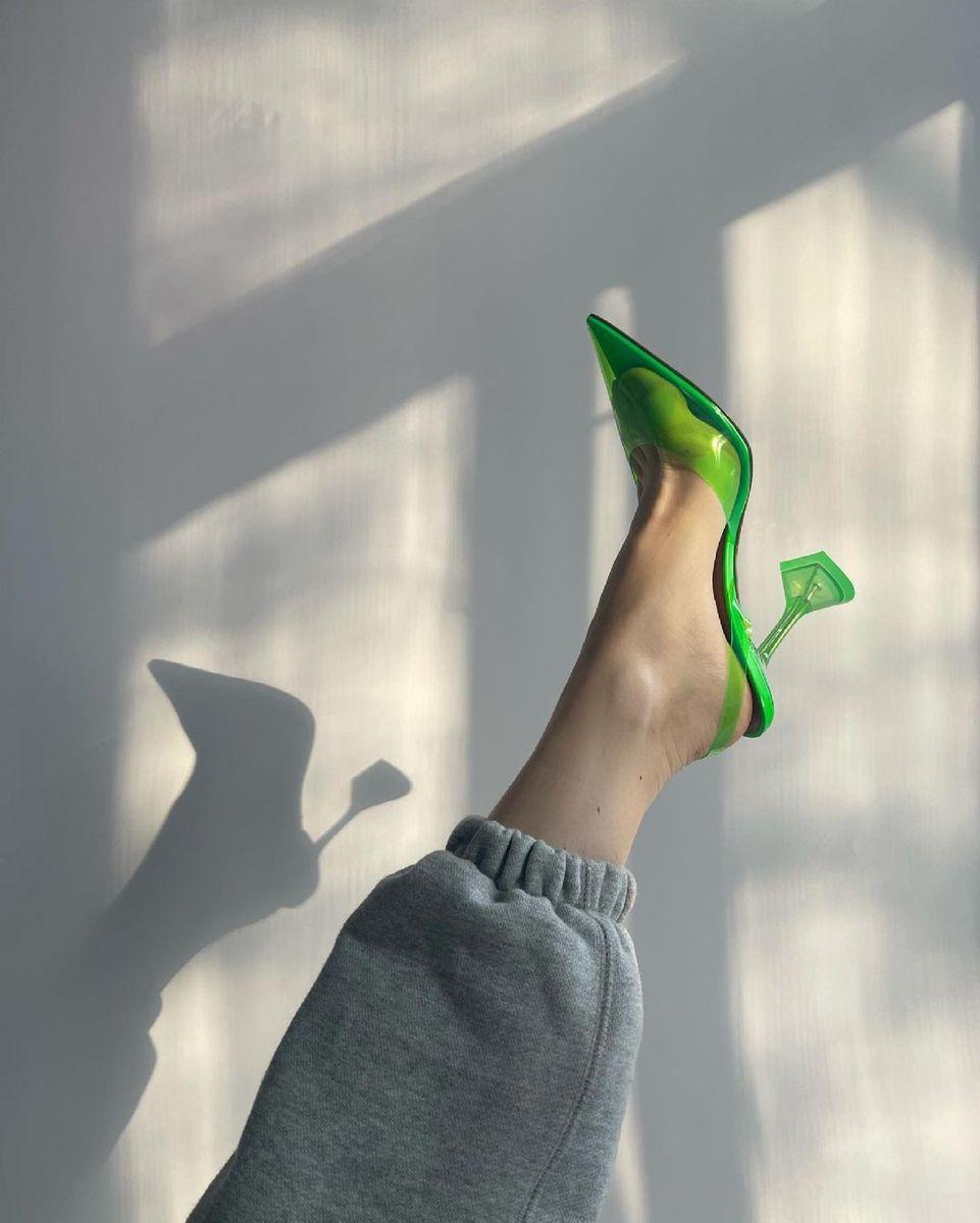 Sandra Hagelstam  Neon shoes