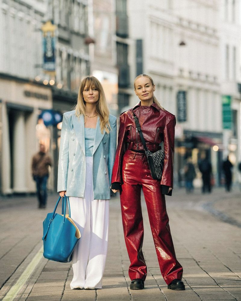 Jeanette Madsen and Thora Valdimars, co-founders of Rotate Birger Christensen