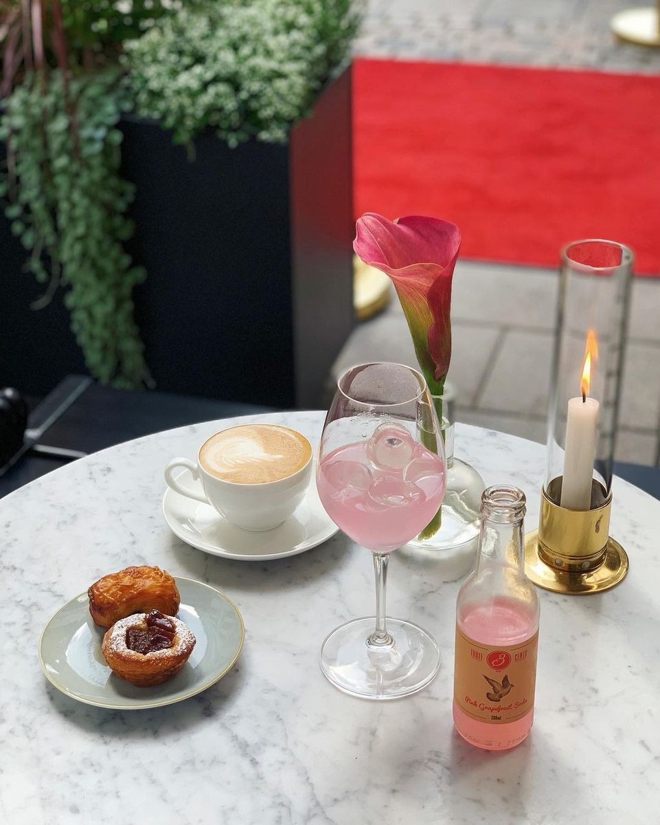 Pink Soda Coffee Stockholm Cafe