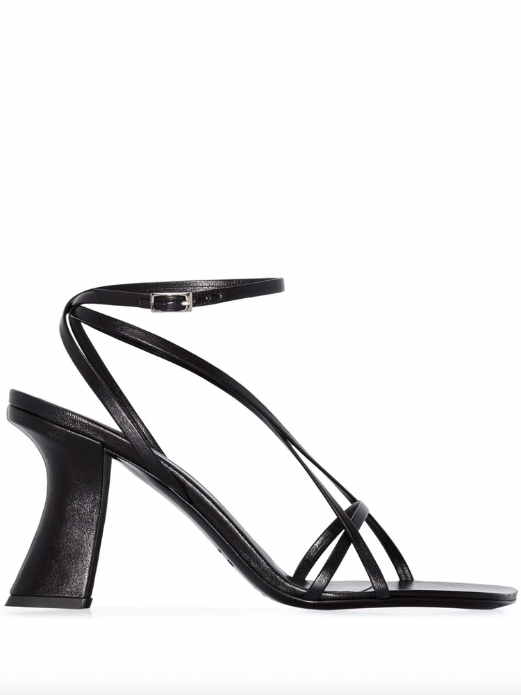 BY FAR Kersti leather sandals