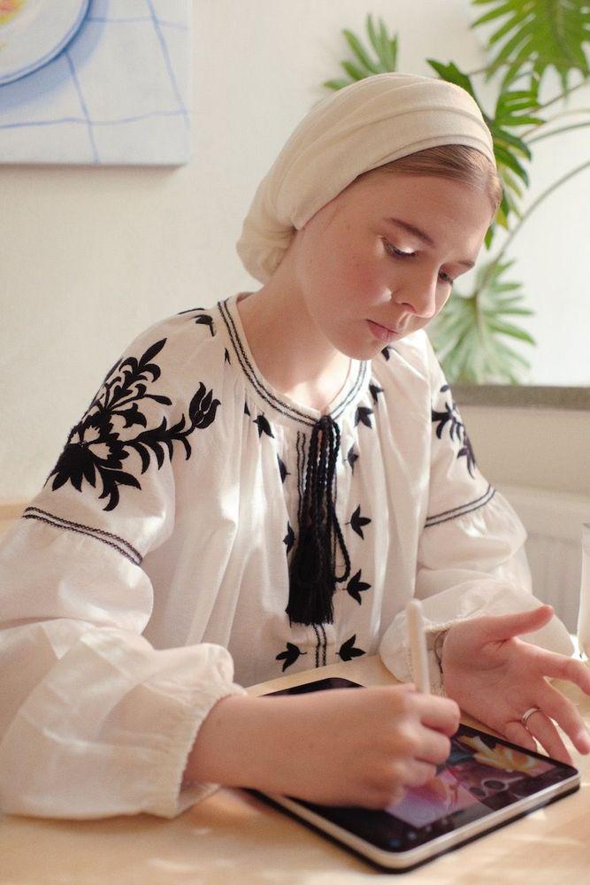 Russian Illustrator Vogue Scandinavia