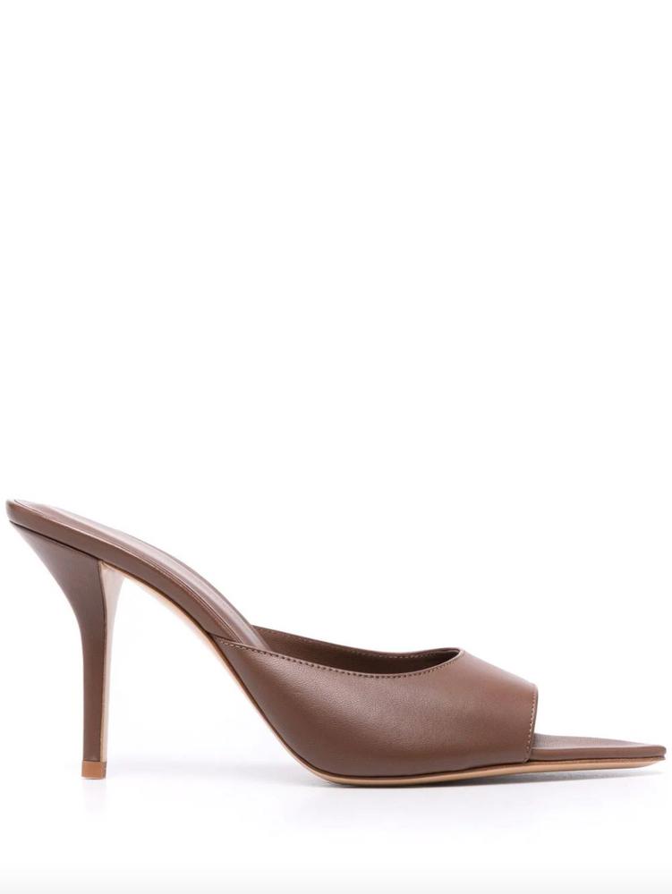 GIA BORGHINI Perni 04 leather mules