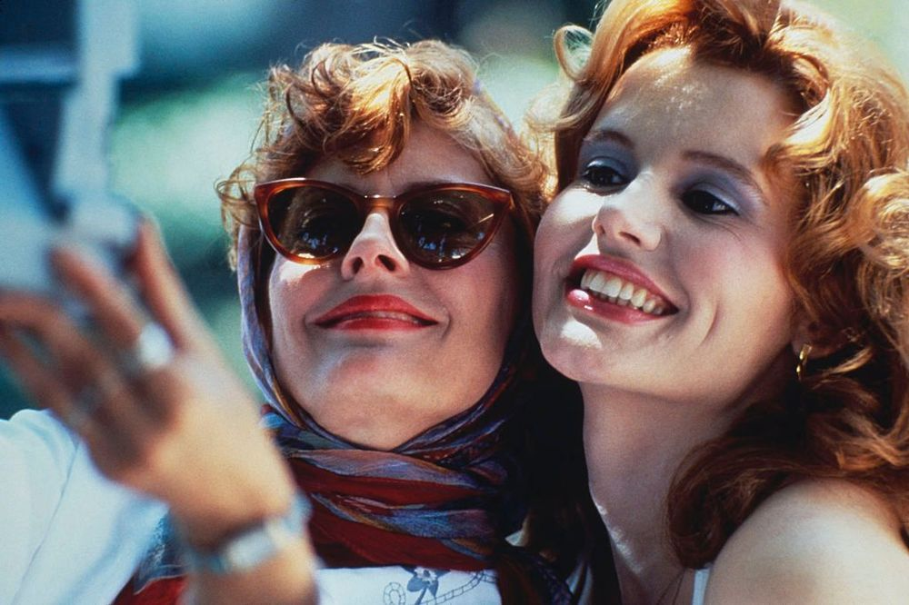 Susan Sarandon in Thelma and Louise, 1991