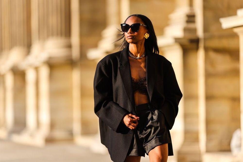 Emilie Joseph @in_fashionwetrust in Paris, 2021