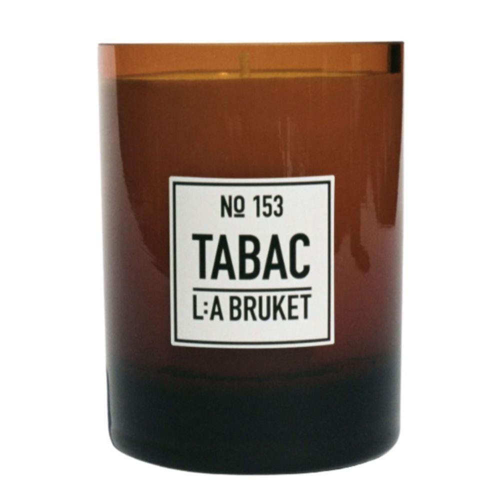 L:A Bruket 153 Scented candle Tabac