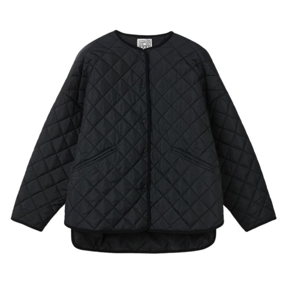 Totême Quilted jacket black