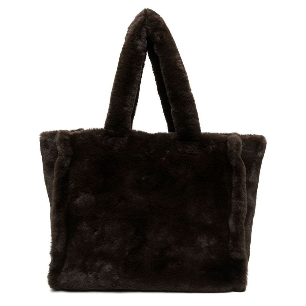 P.A.R.O.S.H. faux shearling tote