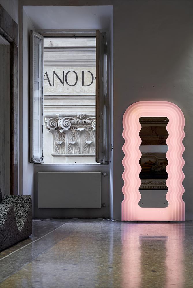 Ettore Sottsass jr., Ultrafragola, mirror, Centro Studi Poltronova