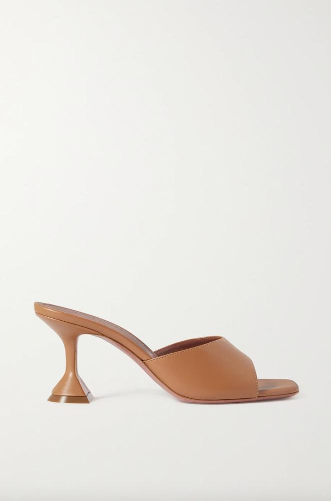 AMINA MUADDI Lupita leather mules