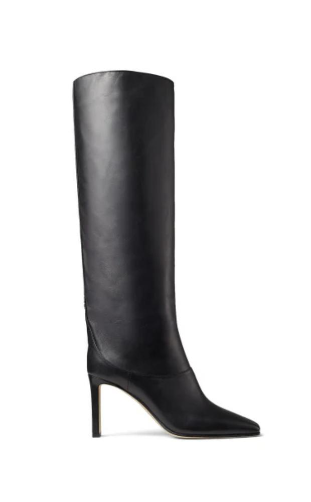 Mahesa 85 black knee-high boots
