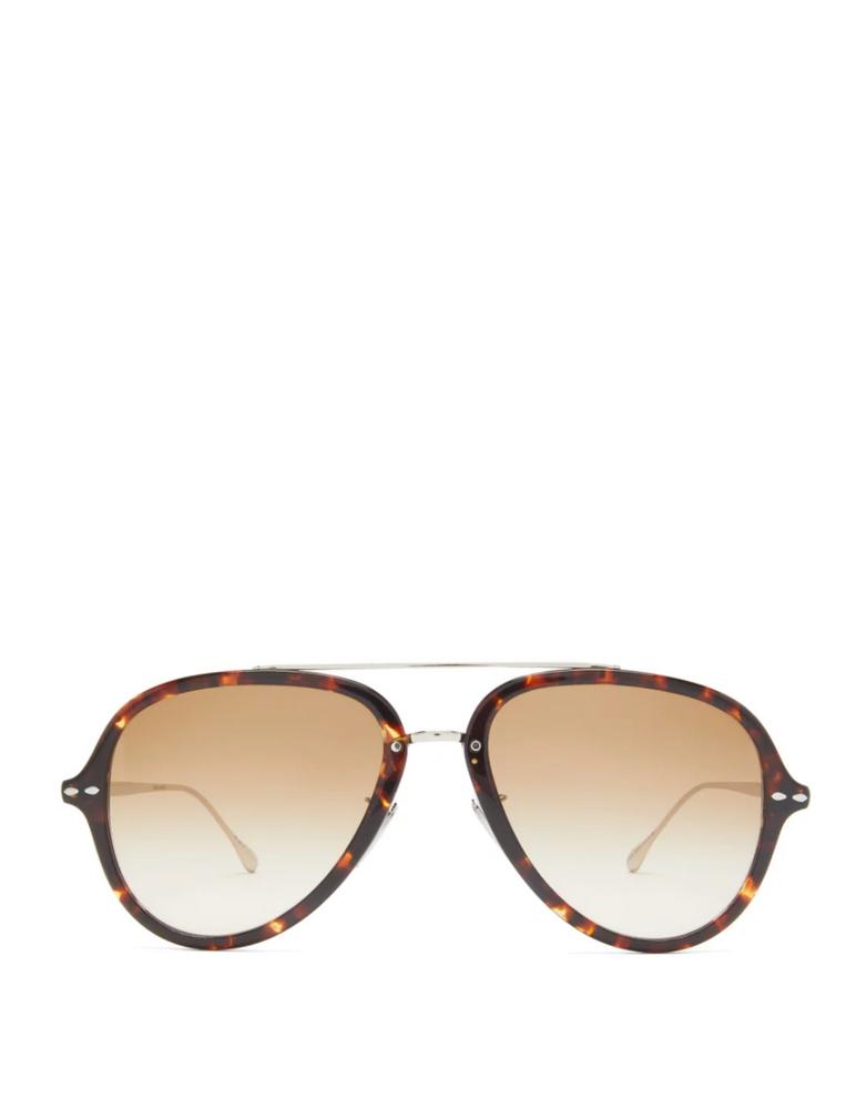 Windsor aviator tortoiseshell-acetate sunglasses