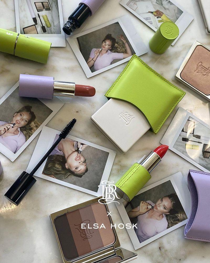 Elsa Hosk x La Bouche Rouge